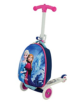Disney Frozen 3 in 1 Scootin Suitcase