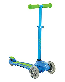 U Move Mini Flex LED Scooter - Blue