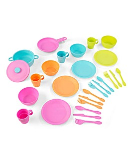 Kidkraft 27pc Bright Cookware Set