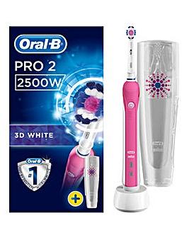 Oral B Pro 2500 Pink Toothbrush