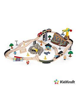 Kidkraft Bucket Construction Train Set