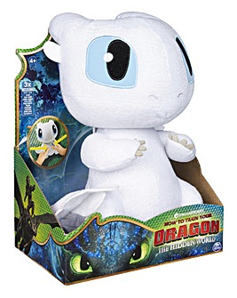 Dragons Squeeze & Growl Plush Lightfury