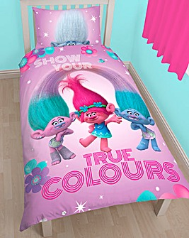 Trolls Grow Reversible Single Duvet Set