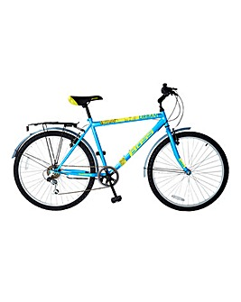 Boss Urban Mens 6 Speed Hybrid Bike