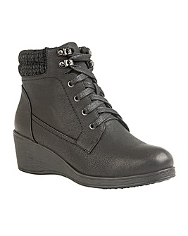 Lotus Priory Lace-Up Ankle Boots