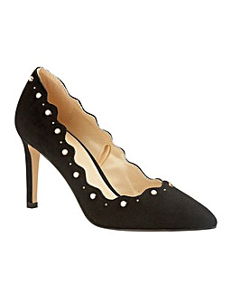 Lotus Popple Stiletto Court Shoes