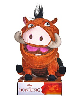 10in Farting Pumba Plush