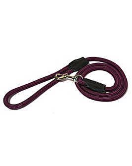 "Rope Twist Lead 64"" Purple"