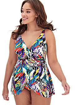 MAGISCULPT Wrapover Swimdress