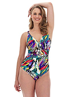 MAGISCULPT Wrapover Swimsuit