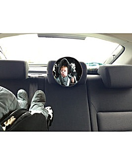Baby safety view mirror