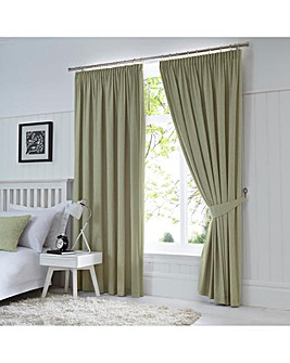 Fusion Dijon Blackout Thermal Lined Curtains