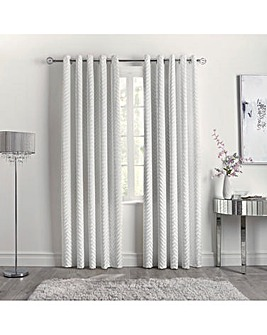 Caprice Faye Eyelet Curtains