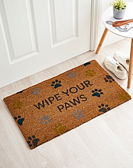 My Mat Wipe Your Paws Doormat