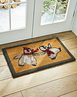 My Mat Dancing Penguins Doormat