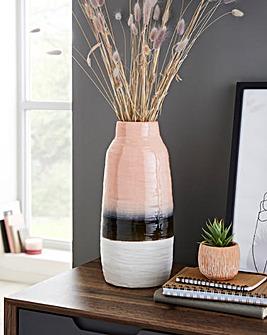 Caldera Tie Dye Stoneware Vase