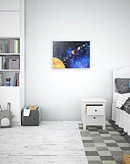 Space Glitter Canvas