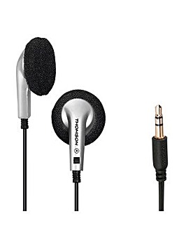 Thomson EAR1115S Earphones Black/Silver
