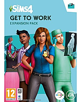 The Sims 4 Get To Work PC  MAC