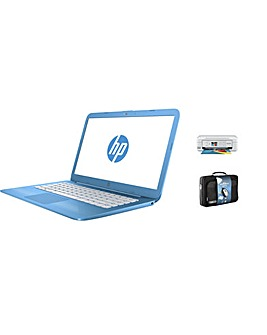 HP 14 Intel 4GB 32GB MS Office Print Set