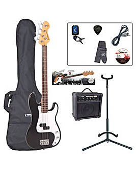 Encore Bass Guitar Outfit