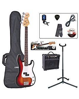 Encore Bass Guitar Outfit