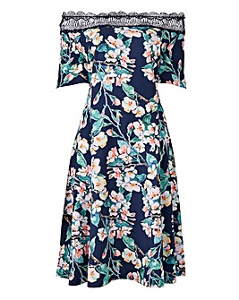Lovedrobe Floral Bardot Dress