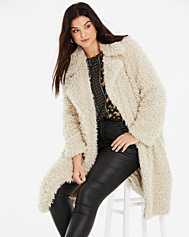 Vero Moda Oversized Teddy Coat