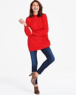 Vero Moda Knitted High Neck Jumper