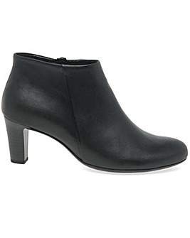 Gabor Ripple Womens Zip Ankle Boots