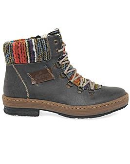 Rieker Emerald Standard Fit Hiker Boots