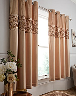 Sequin Trail Curtains