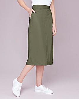 Julipa Cotton Poplin Skirt