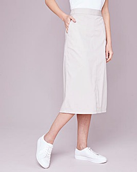 Julipa Stone Cotton Poplin Skirt