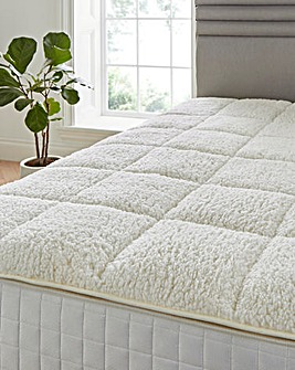 Cuddle Fleece Mattress Enhancer