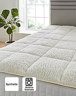 Cuddle Fleece Mattress Enhancer