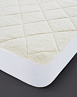 Cuddle Fleece Deep Mattress Protector