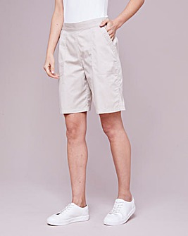 Julipa Cotton Poplin Shorts