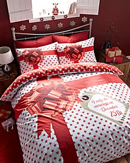 Christmas Present Duvet Cover Set