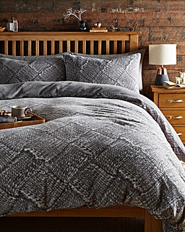 Nordic Cuddle Fleece Duvet Cover Set