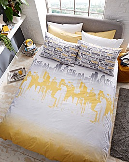Cityscape Duvet Cover Set