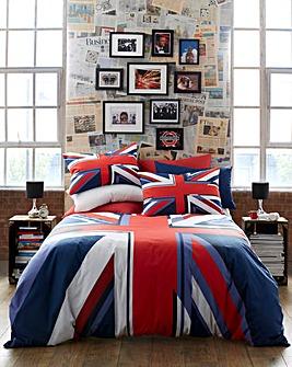 Union Jack Duvet Cover Set