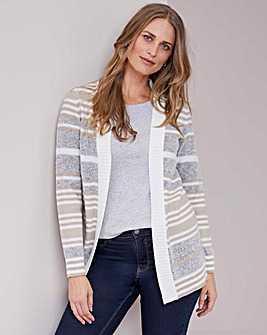 Julipa Edge to Edge Stripe Cardigan