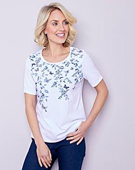 Julipa Butterfly Print T Shirt