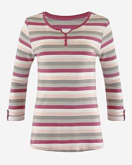 Julipa Leisure Stripe T-Shirt