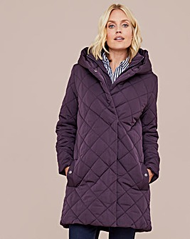Dannimac Padded Jacket with Wrap Front