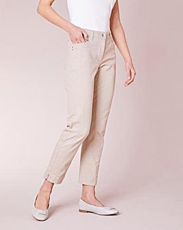Julipa Stretch Cotton Twill Trouser
