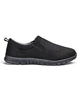 Cushion Walk Slip on Trainers Standard Fit