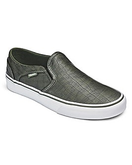 Vans Asher Croc Womens Trainers