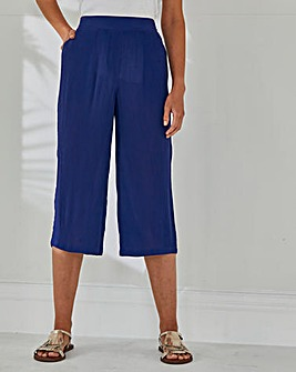 Julipa Crinkle Crop Trouser